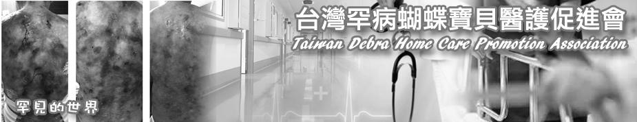 台灣罕病蝴蝶寶貝醫護促進會上方形象圖